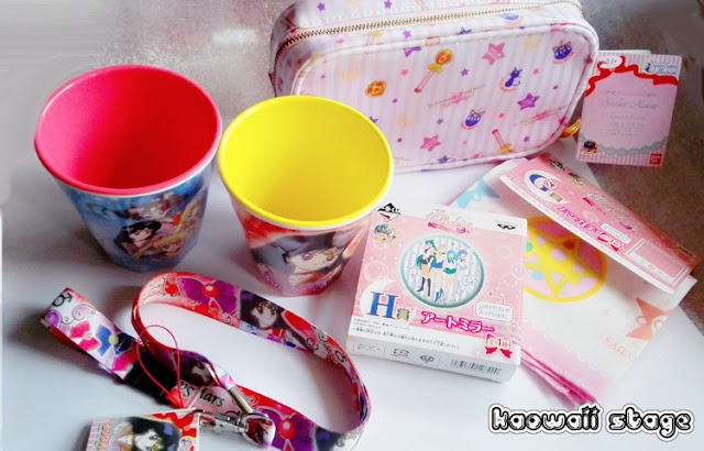 objetos de sailor moon crystal