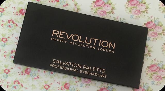 makeup revolution salvation girls on film palette