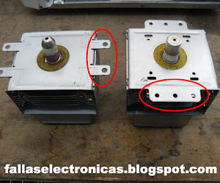Cómo medir magnetrón del horno de microondas
