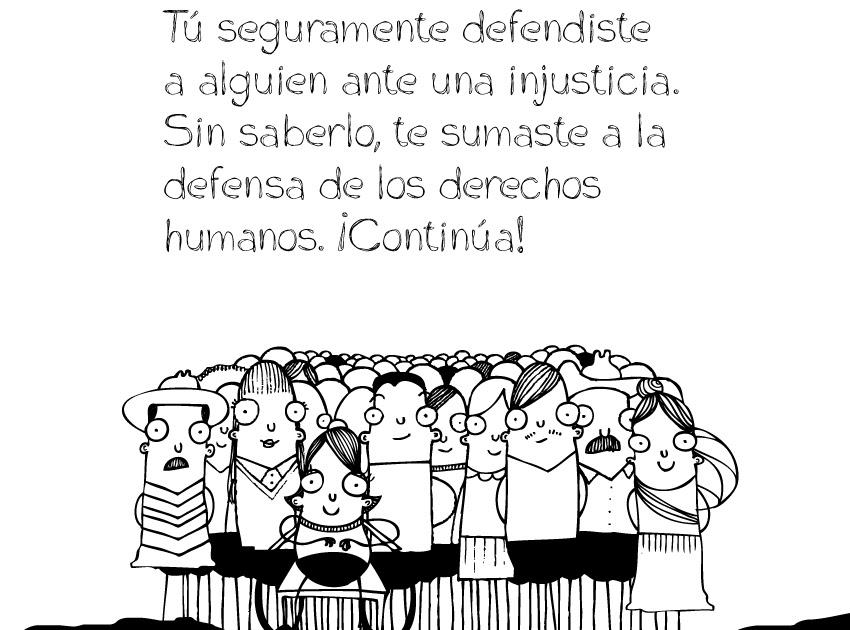 ALDHU: YO ME DECLARO DEFENSOR (A) DE LOS DERECHOS HUMANOS