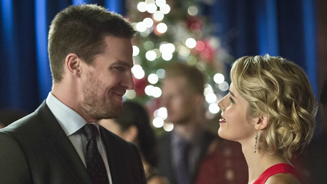 Olicity en 'Arrow'