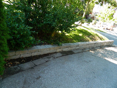 Forest Hill Toronto front garden fall clean up after by Paul Jung Gardening Services