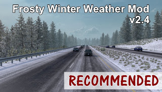 ats mods, american truck simulator mods, ats realistic mods, recommendedmodsats, grime's weather mods, ats weather mod, ats graphic mod, ats winter mod, ats frosty winter weather mod v2.4