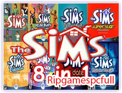 The Sims 1 Pc Games  + Full Expansion Pack
