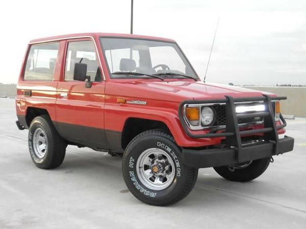 1987 Toyota BJ70 Land Cruiser For Sale