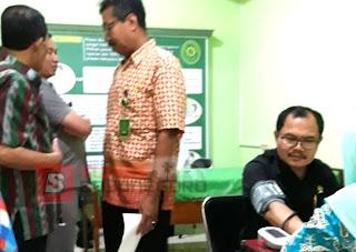 Dinkes Bojonegoro Lakukan Cek Kesehatan di PN