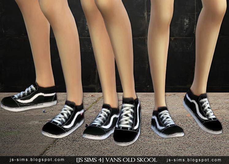 Sims  Vans Shoe Mod