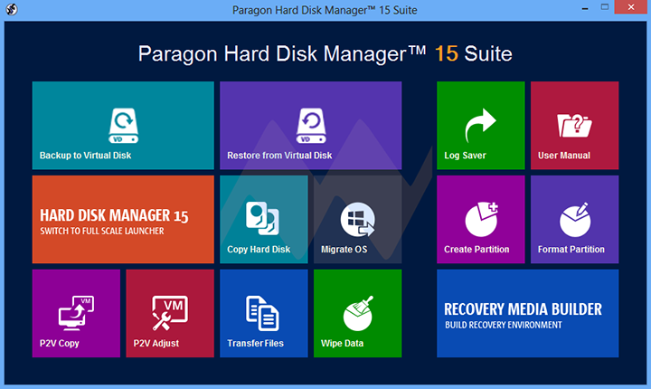 Paragon Hard Disk Manager 15