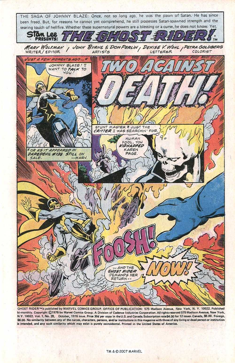 Ghost Rider (1973) Issue #20 #20 - English 3