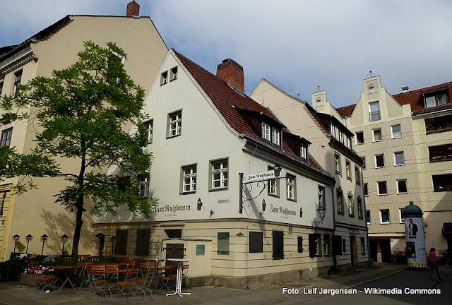 Comer em Berlim, restaurante Zum Nußbaum, em Nikolaiviertel