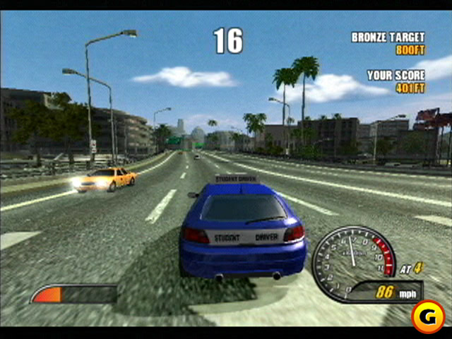 Burnout 2 Point of Impact PS2 GAME ISO Gameplay 1