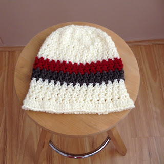 Crochet beanie for woman