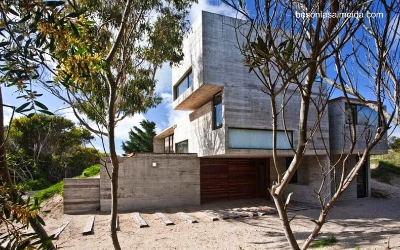 Casa de playa minimalista en Mar Azul, Buenos Aires