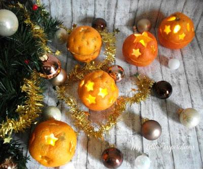 Come fare suggestive lanternine con arance intagliate -day 2 - MLI