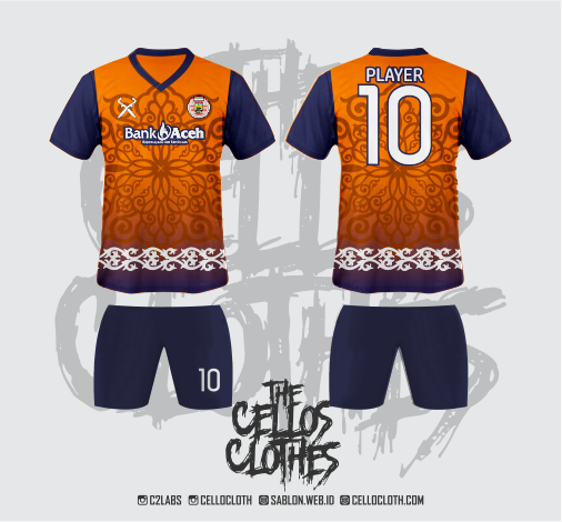 Desain Jersey Bola and Harga Custom Jersey Futsal Full Printing Murah