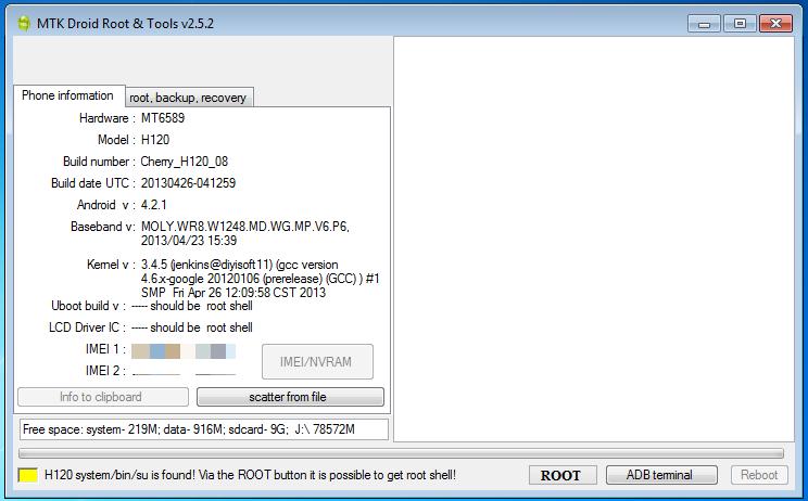 Detect MediaTek Device To Repair MTK IMEI Repair Tool