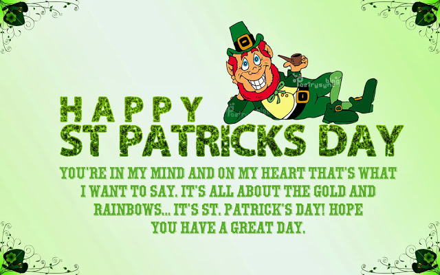 Happy%2BSt.%2BPatrick%2527s%2BDay%2BGreetings%2BImages - #100+ Happy St. Patrick's Day Wishing Message & Wishing Quotes - Best St Patrick Day Quotes Blessings