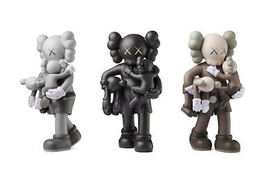 Clean Slate Companion Vinyl Figure by KAWS