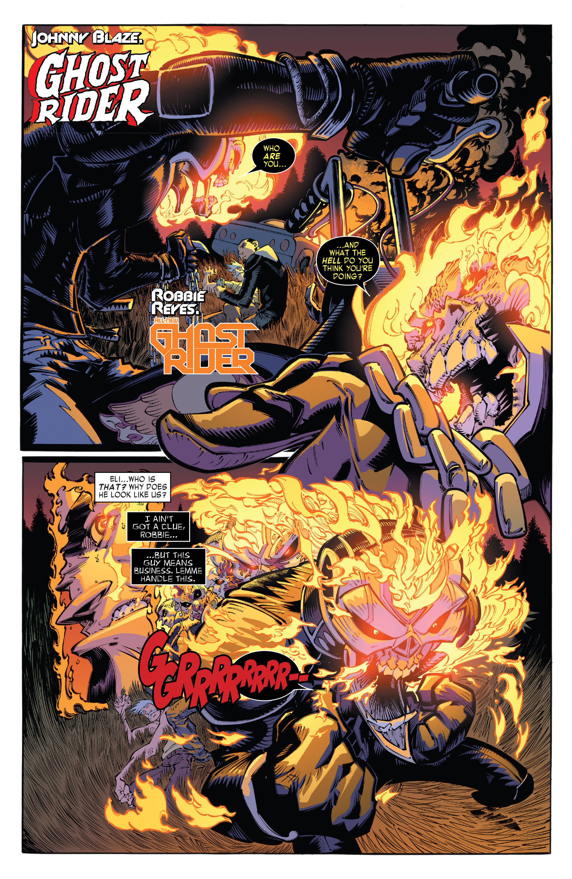 Read online All-New Ghost Rider comic -  Issue #8 - 3