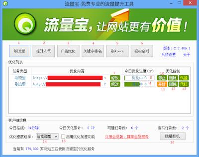 Pengertian dan cara menggunakan Liuliangbao Software BOT Visitor Terbaru (Bahasa Indonesia)
