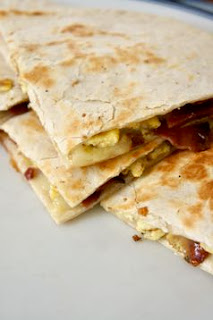 Breakfast Quesadilla: Savory Sweet and Satisfying