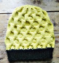 http://www.ravelry.com/patterns/library/the-bee-hive---the-hat