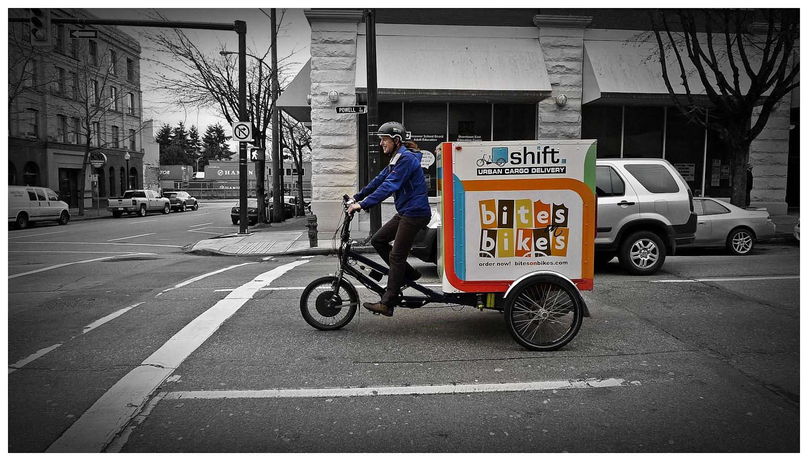 bigheadtaco com: Dream Job= Shift Urban Cargo Delivery