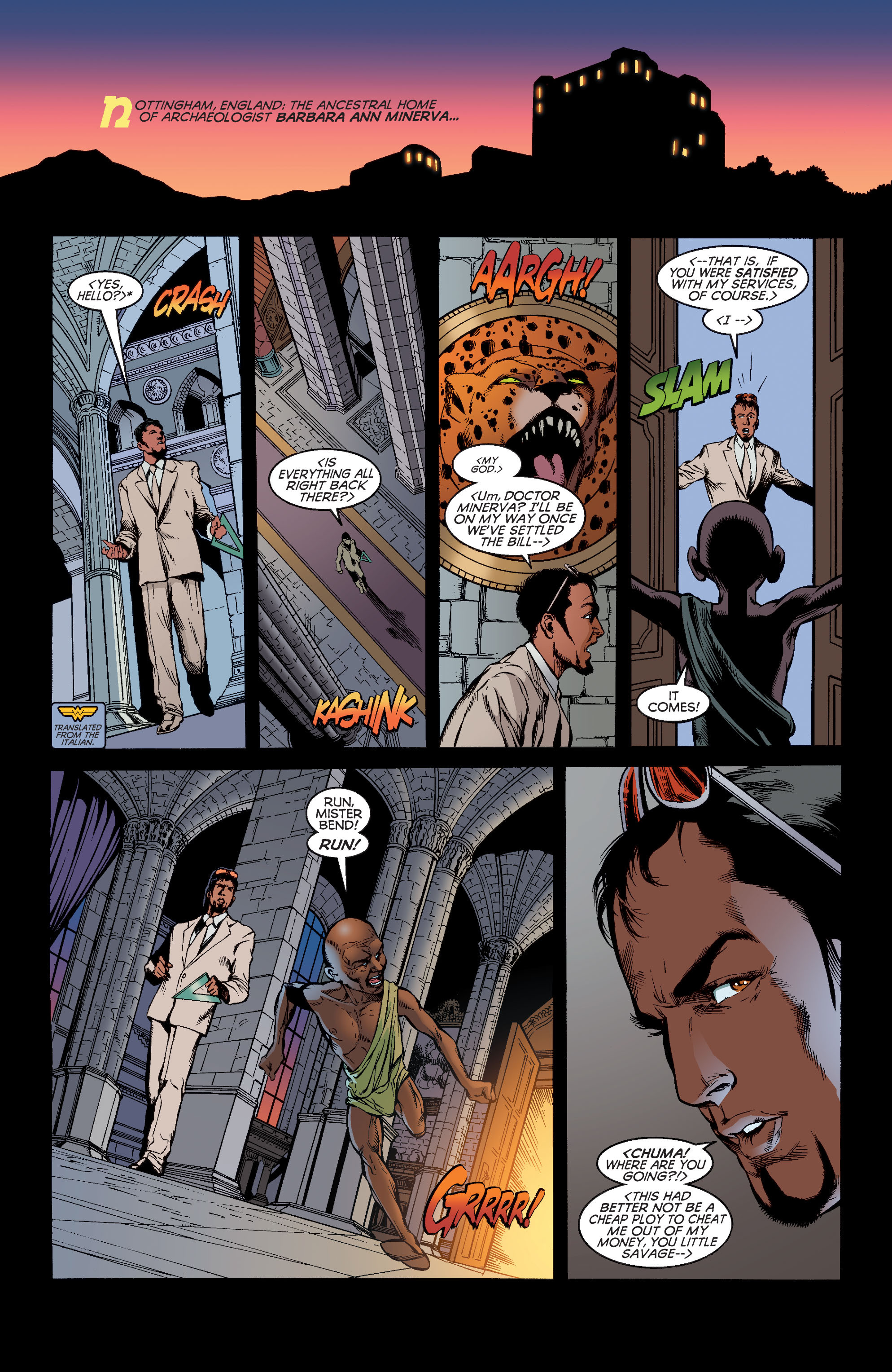 Read online Wonder Woman (1987) comic -  Issue #186 - 2