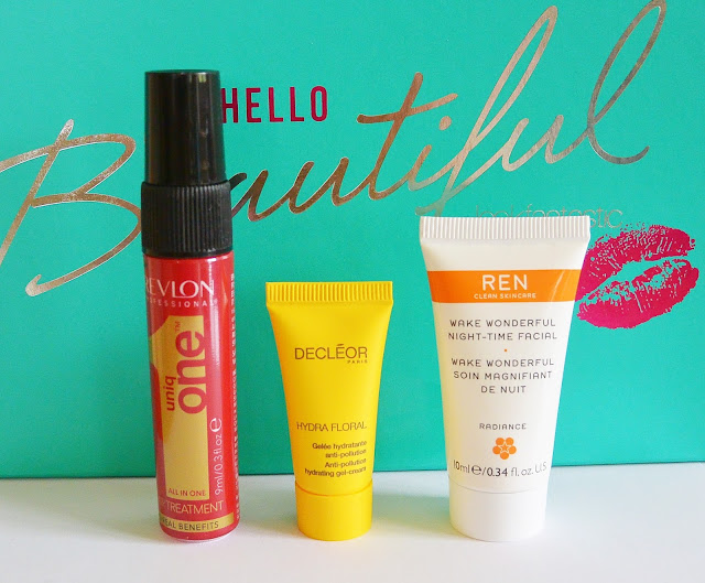 LookFantastic - Beauty Box (#LFHELLOBEAUTIFUL - Mai 2016) Revlon, Cecleor, Ren