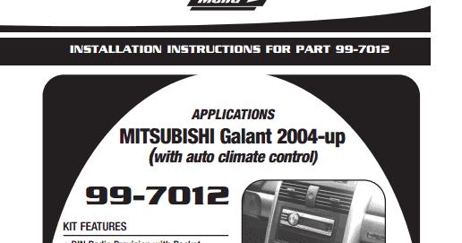 Wiring Diagrams And Free Manual Ebooks: Metra 99-7012