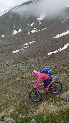 Bikebergsteigen am Geislachkogel im Ötztal