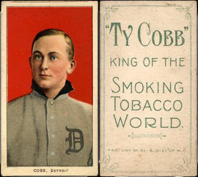 Ty Cobb Back