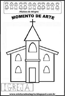 Projeto Pátria, desenho de igreja