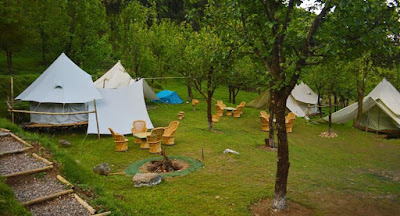 A camp in Bir