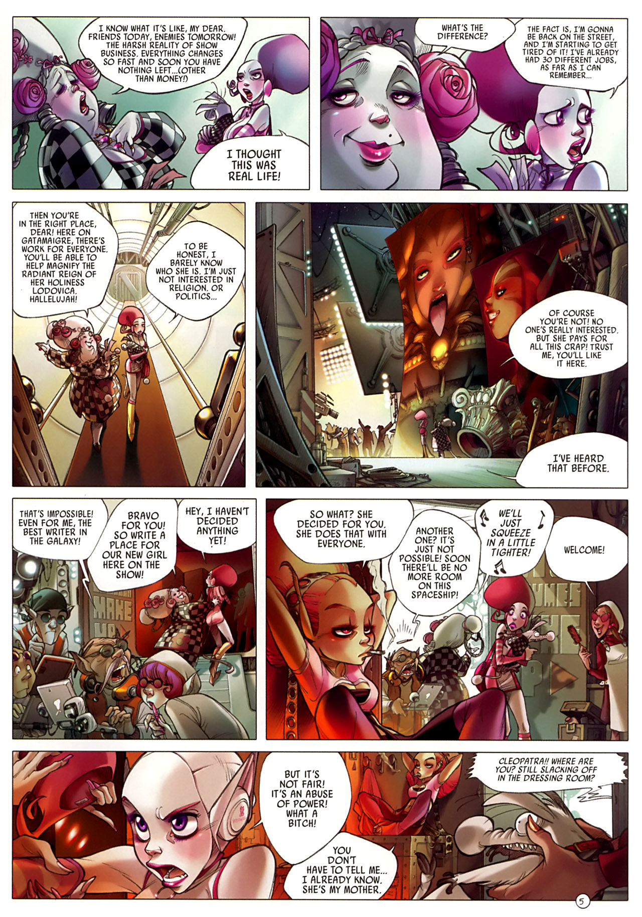 Read online Sky Doll comic -  Issue #3 - 9