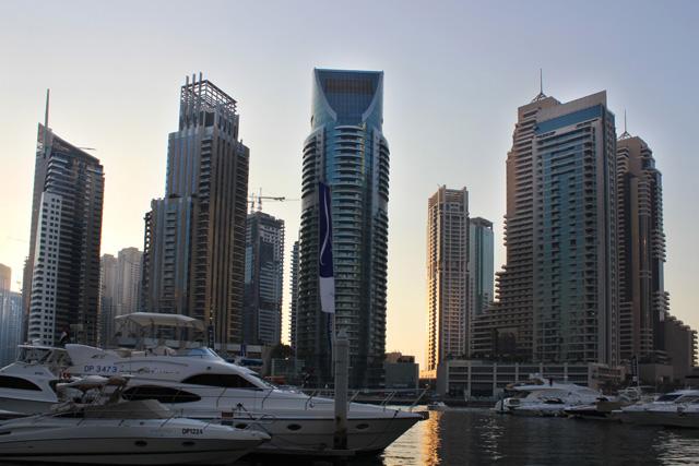 Dubai Marina, puerto deportivo
