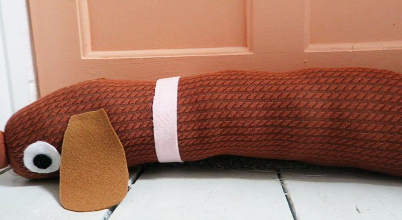 Make your own draft excluder - Online Sale