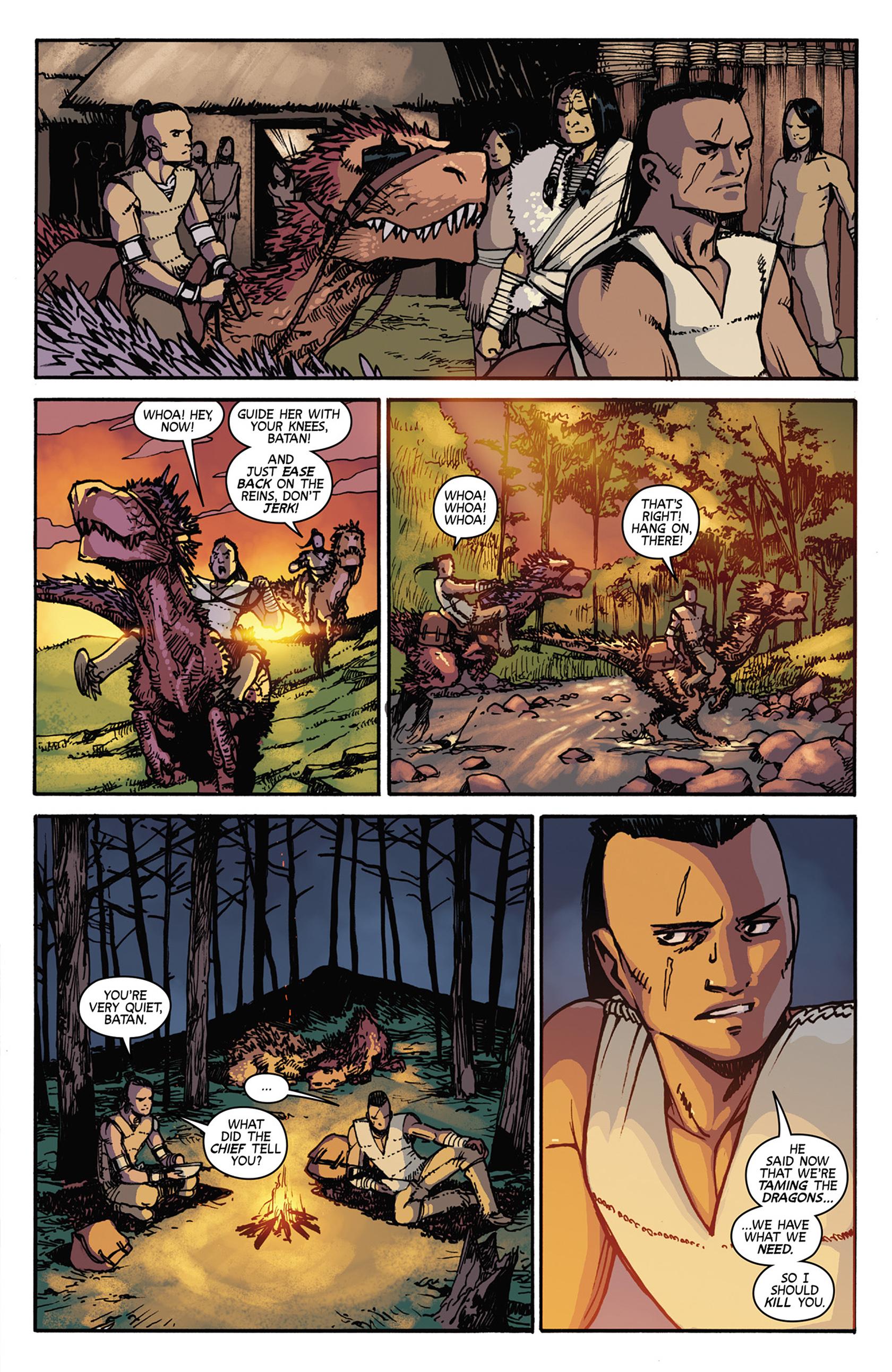 Read online Turok: Dinosaur Hunter (2014) comic -  Issue #7 - 17