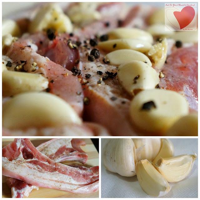PINOY FOOD RECIPE : GARLICKY PORK LIEMPO