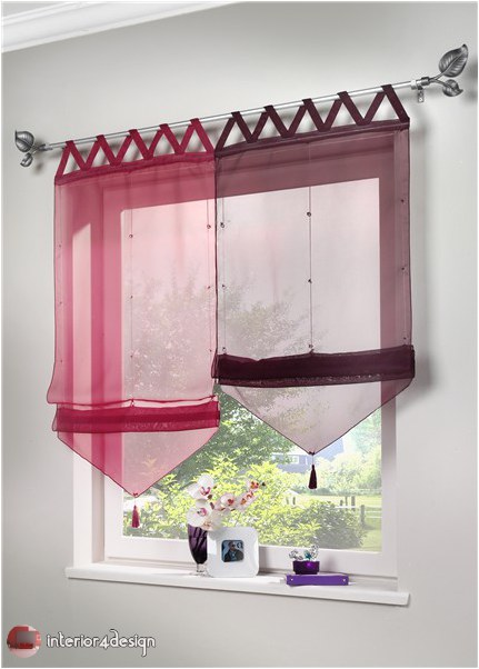 Elegant Kitchen Curtains 31