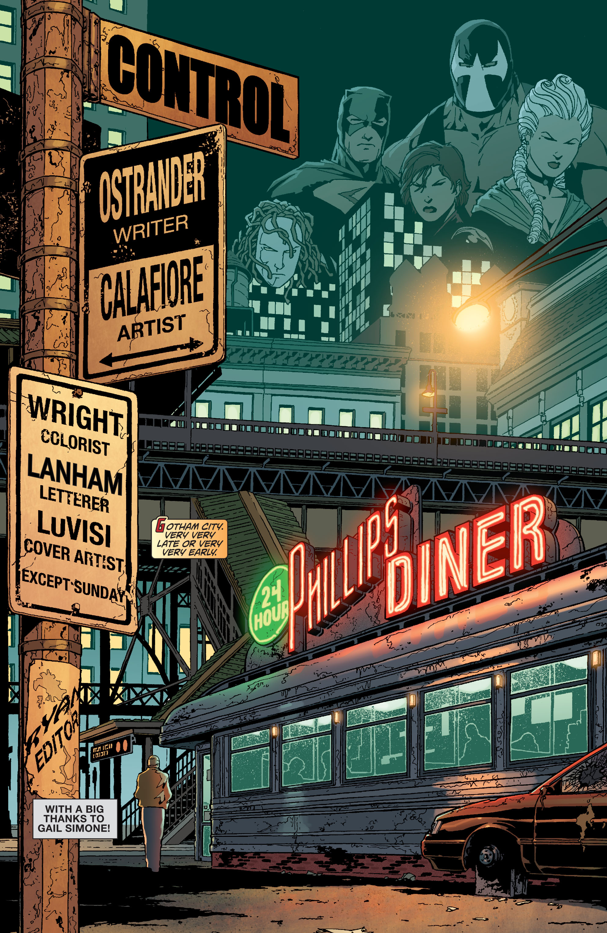 Read online Secret Six (2008) comic -  Issue #15 - 2