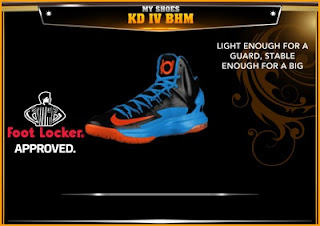 NBA 2K13 Shoes Nike KD V Away