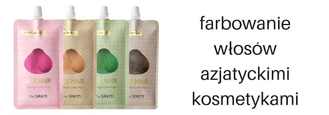 Jak działają azjatyckie kosmetyki do farbowania na włosy europejskie?