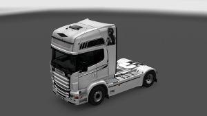 Scania RJL White Bandit Skin
