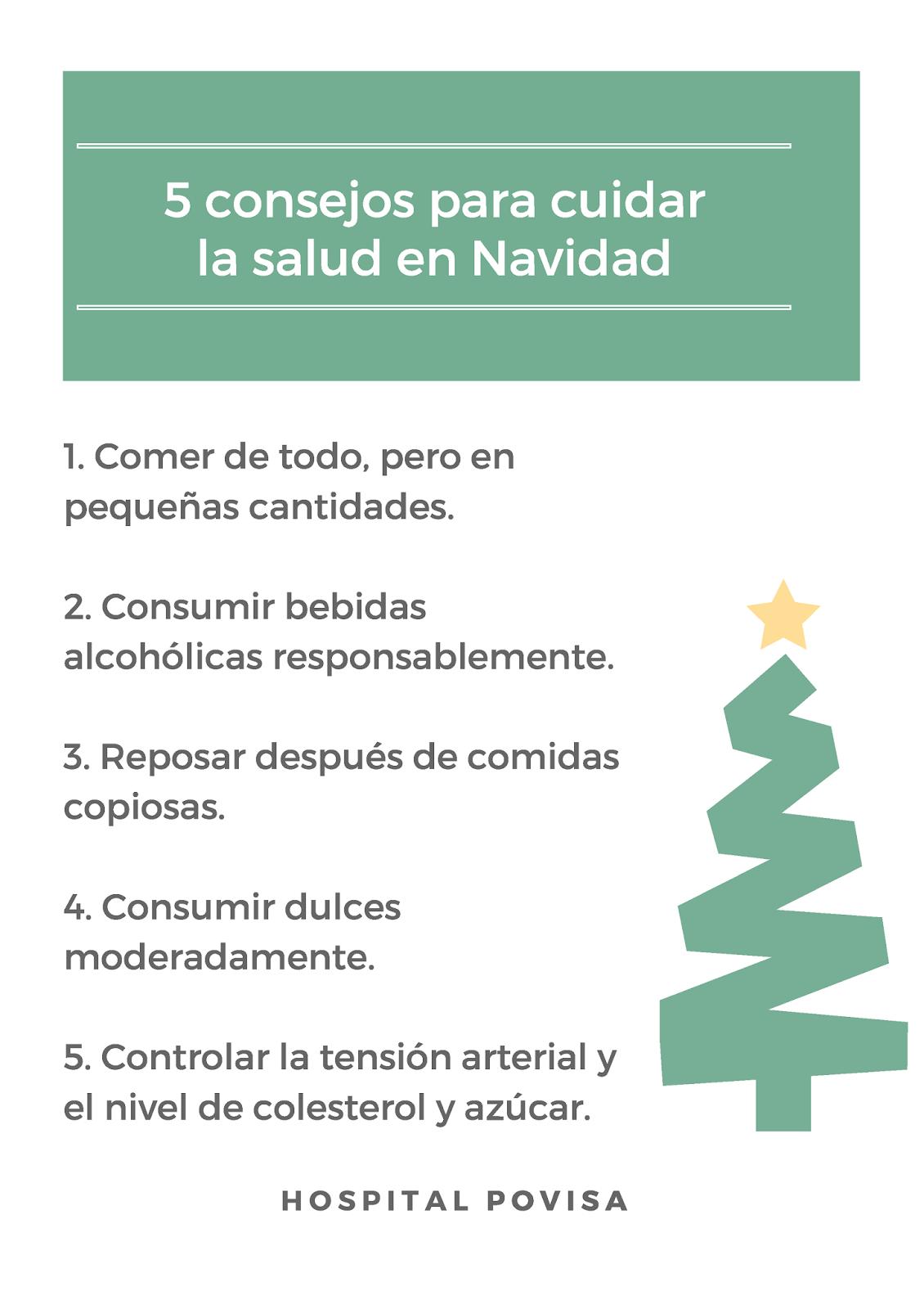 tips para comer saludable en las fiestas navideñas