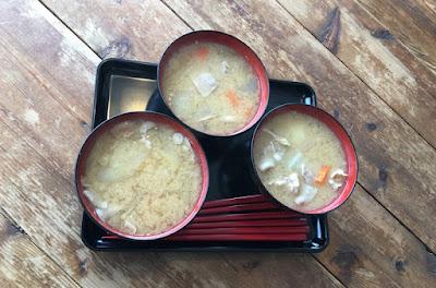 タケヤ味噌会館の豚汁