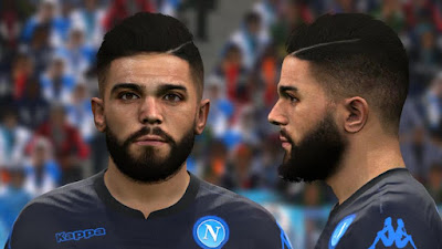 PES 2017 Faces Lorenzo Insigne by BenHussam