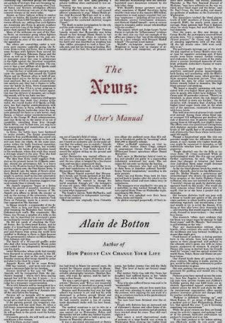 Book cover - The News - Alain de Botton