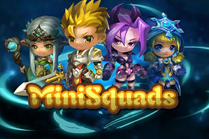 Download Game RPG Ringan MiniSquads Apk
