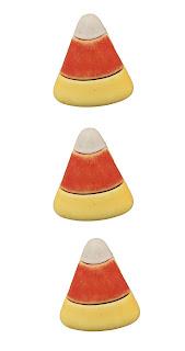 Candy Corn 3D Buttons